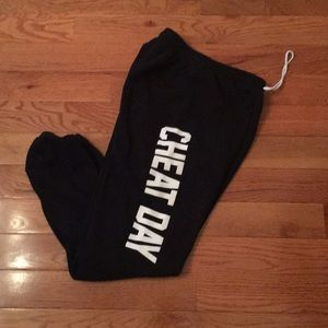 Private party cheat day sweatpants